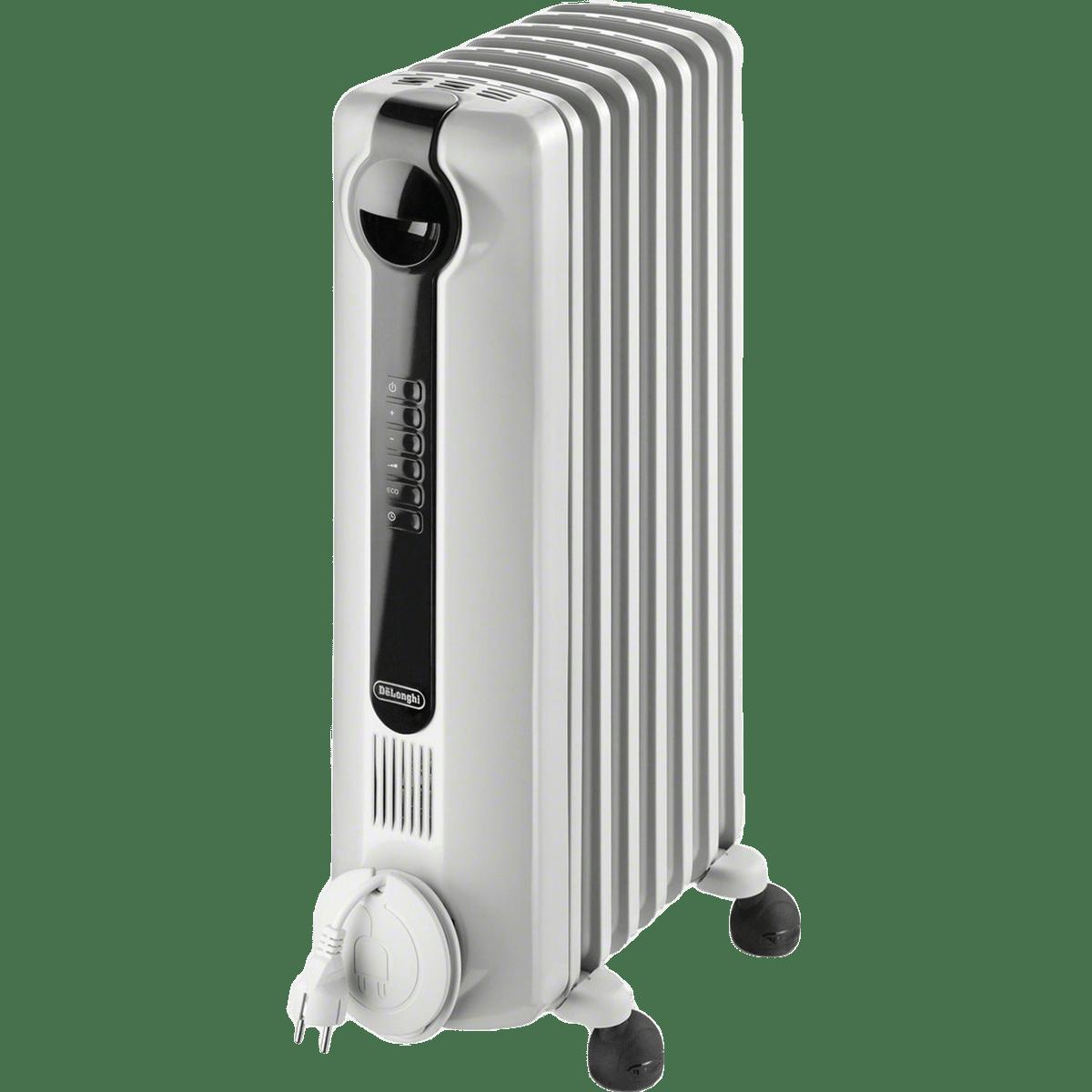 delonghi trrs0715e oil filled radiator heater sylvane. Black Bedroom Furniture Sets. Home Design Ideas