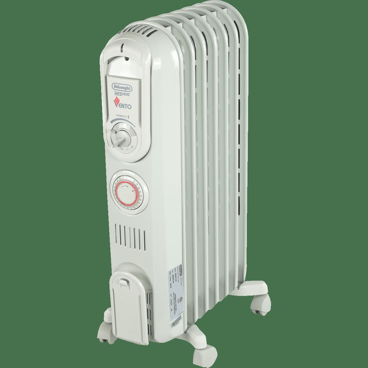 delonghi trv0715t vento oil filled radiator heater free. Black Bedroom Furniture Sets. Home Design Ideas
