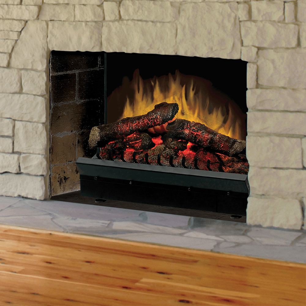 patented flame technology this dimplex 23 inch electric fireplace insert