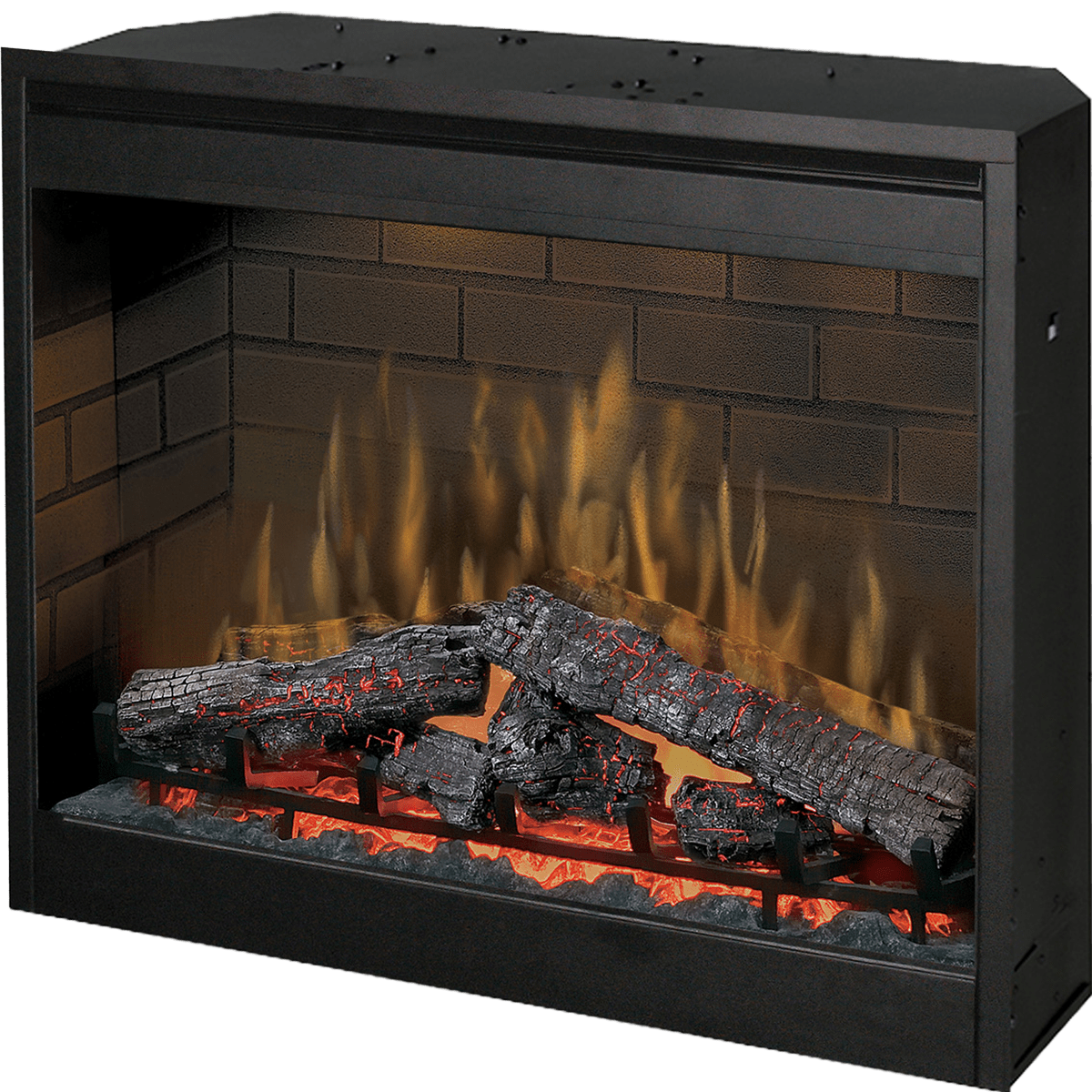 dimplex dimplex 30 inch self trimming electric firebox free