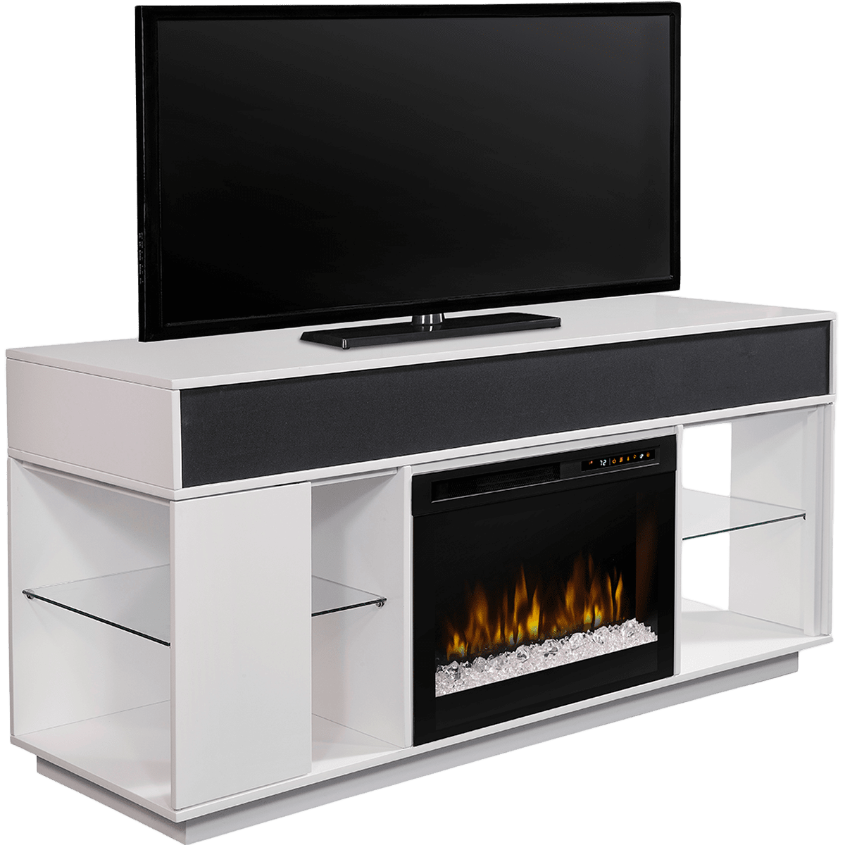 dimplex audio flex lex media console sylvane