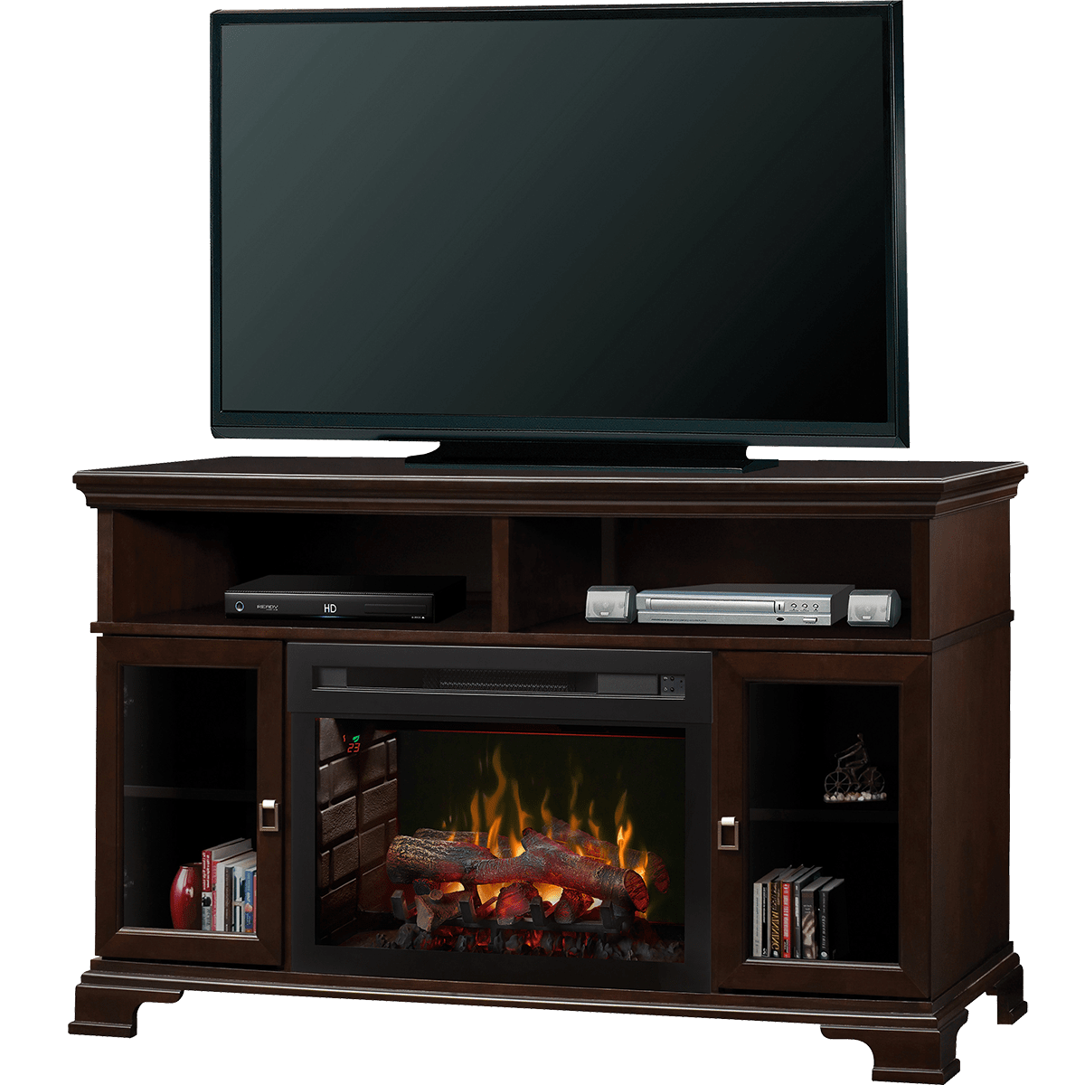 Dimplex Brookings A Console Electric Fireplace Logset
