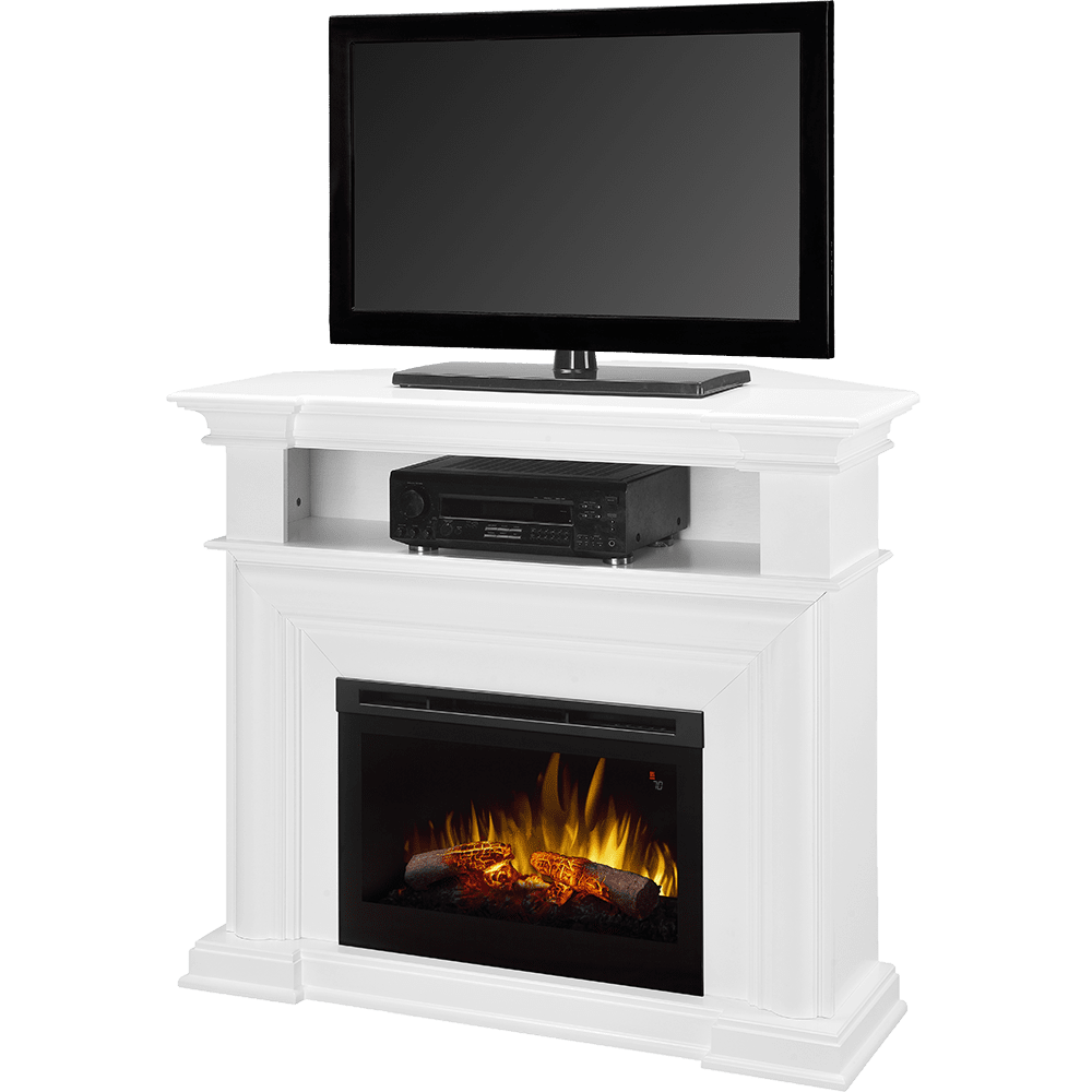 dimplex colleen convertible media console fireplace sylvane
