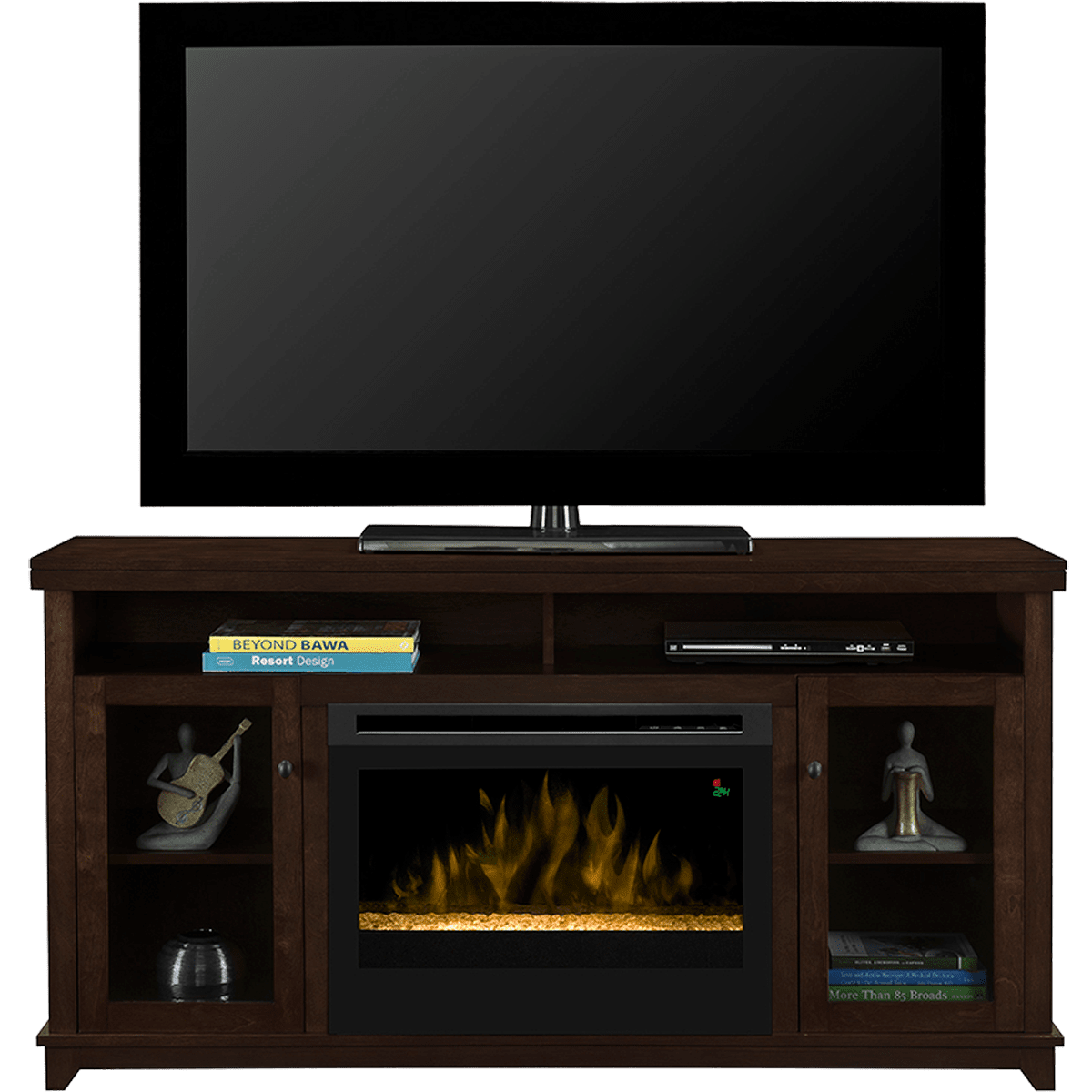 dimplex dupont media console electric fireplace sylvane