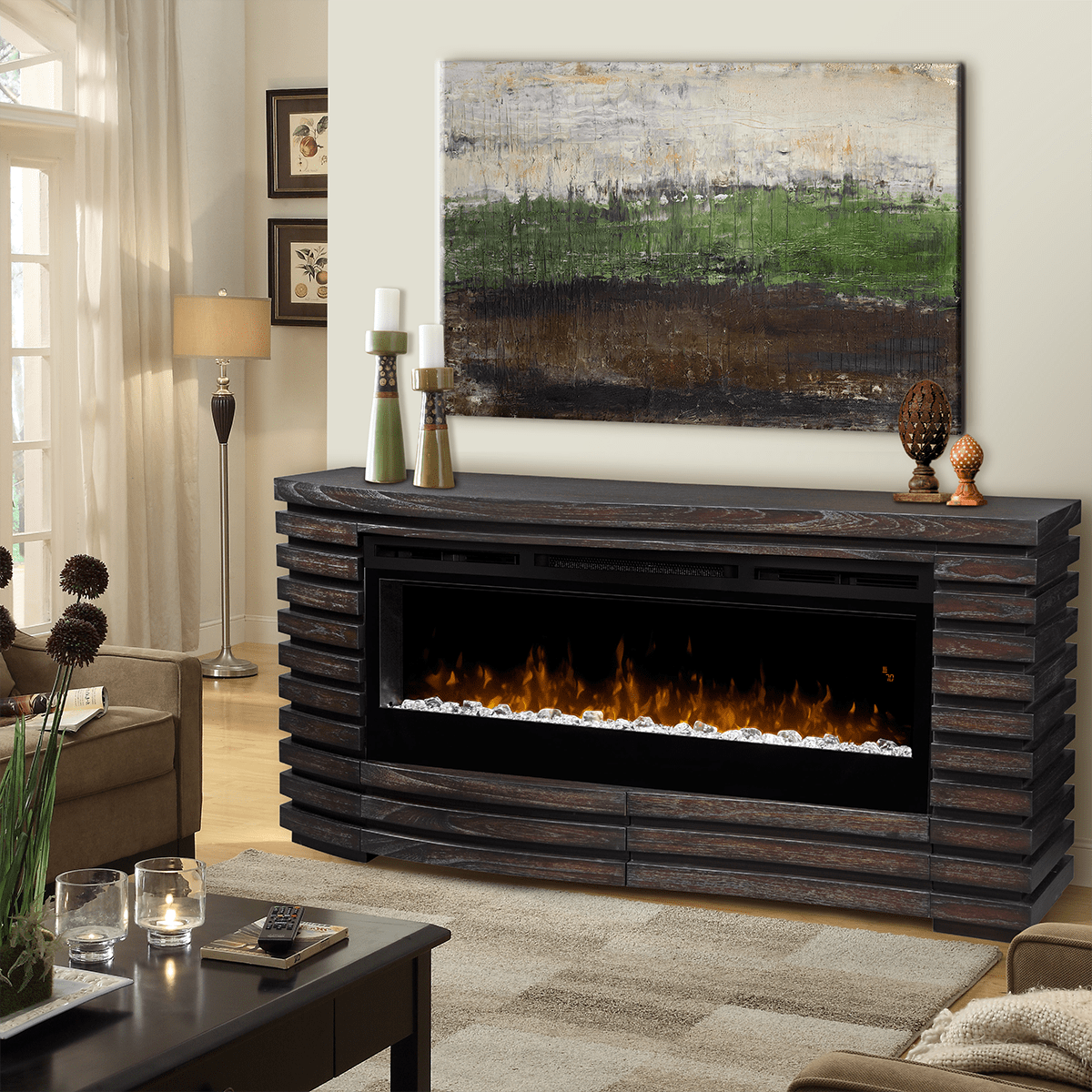Dimplex Elliot Electric Fireplace Tv Stand Sylvane Garage Heaters With Thermostat 1