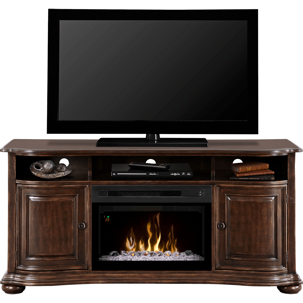 dimplex henderson media console electric fireplace sylvane