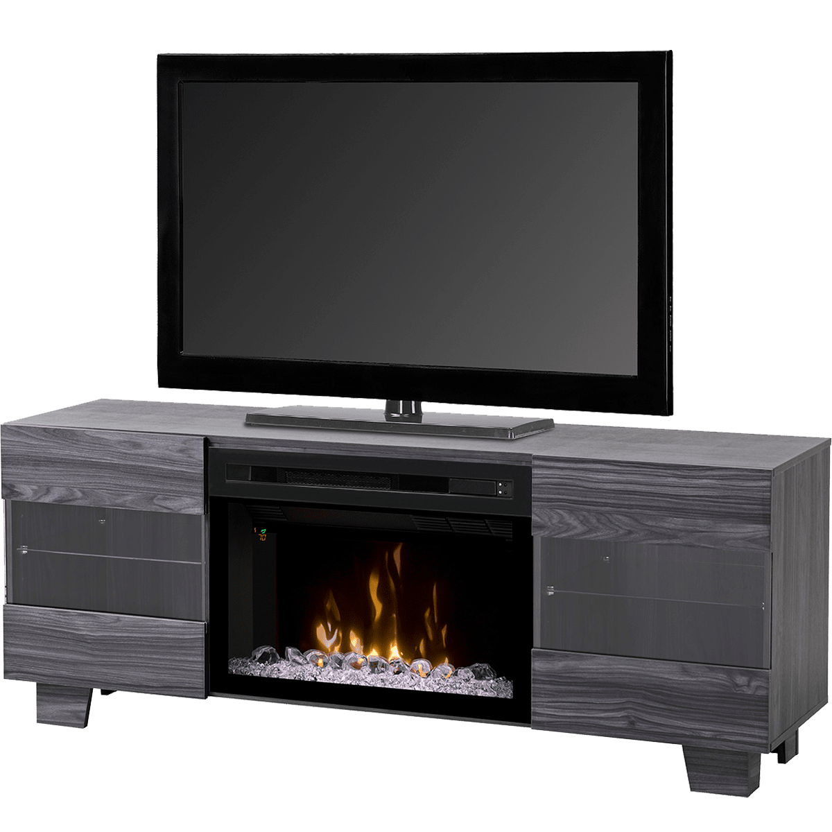 The Dimplex Max Media Console Electric Fireplace offers 120v of contemporary style and year-round comfort. Shop Sylvane for expert advice and free shipping!