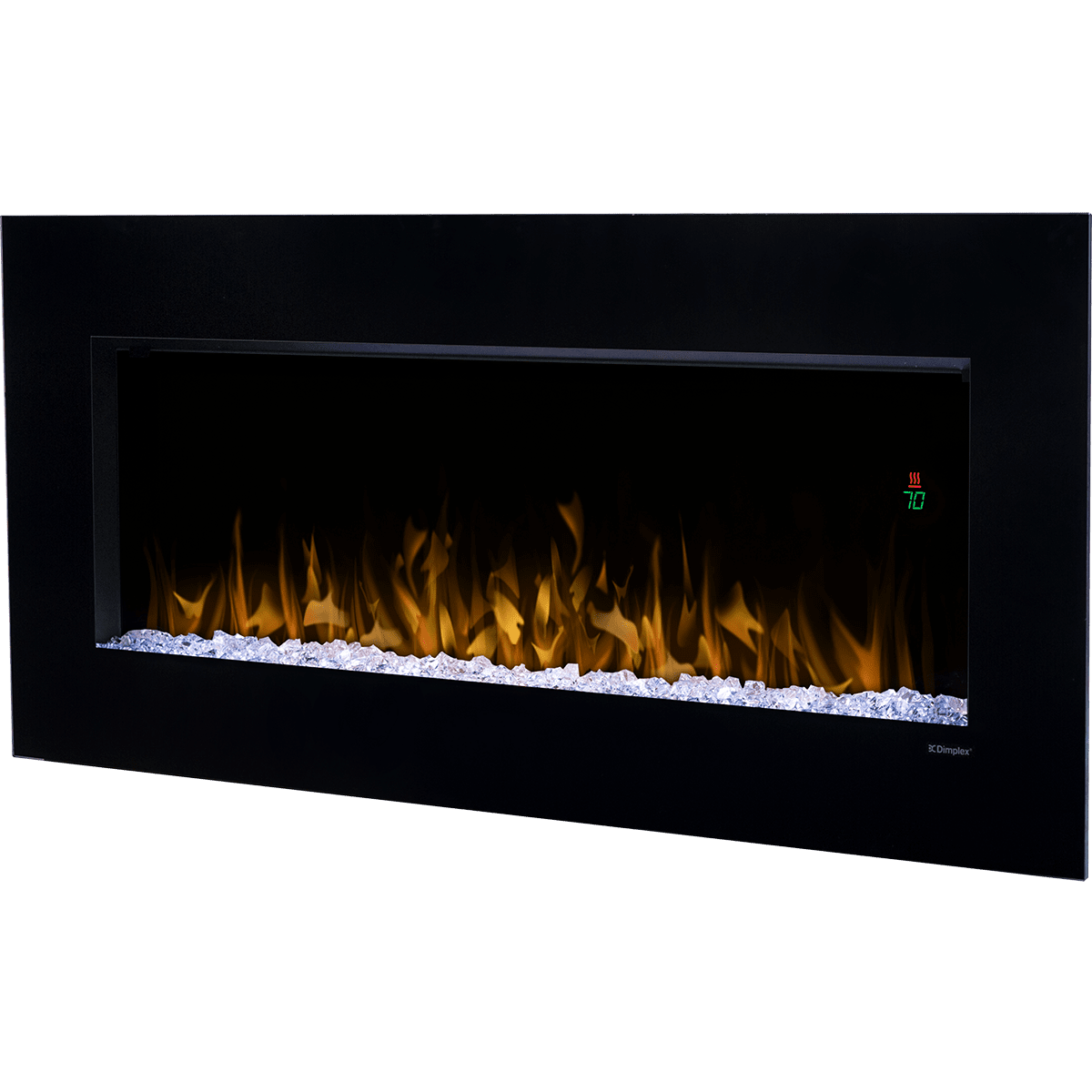 dimplex nicole wall mount electric fireplace sylvane