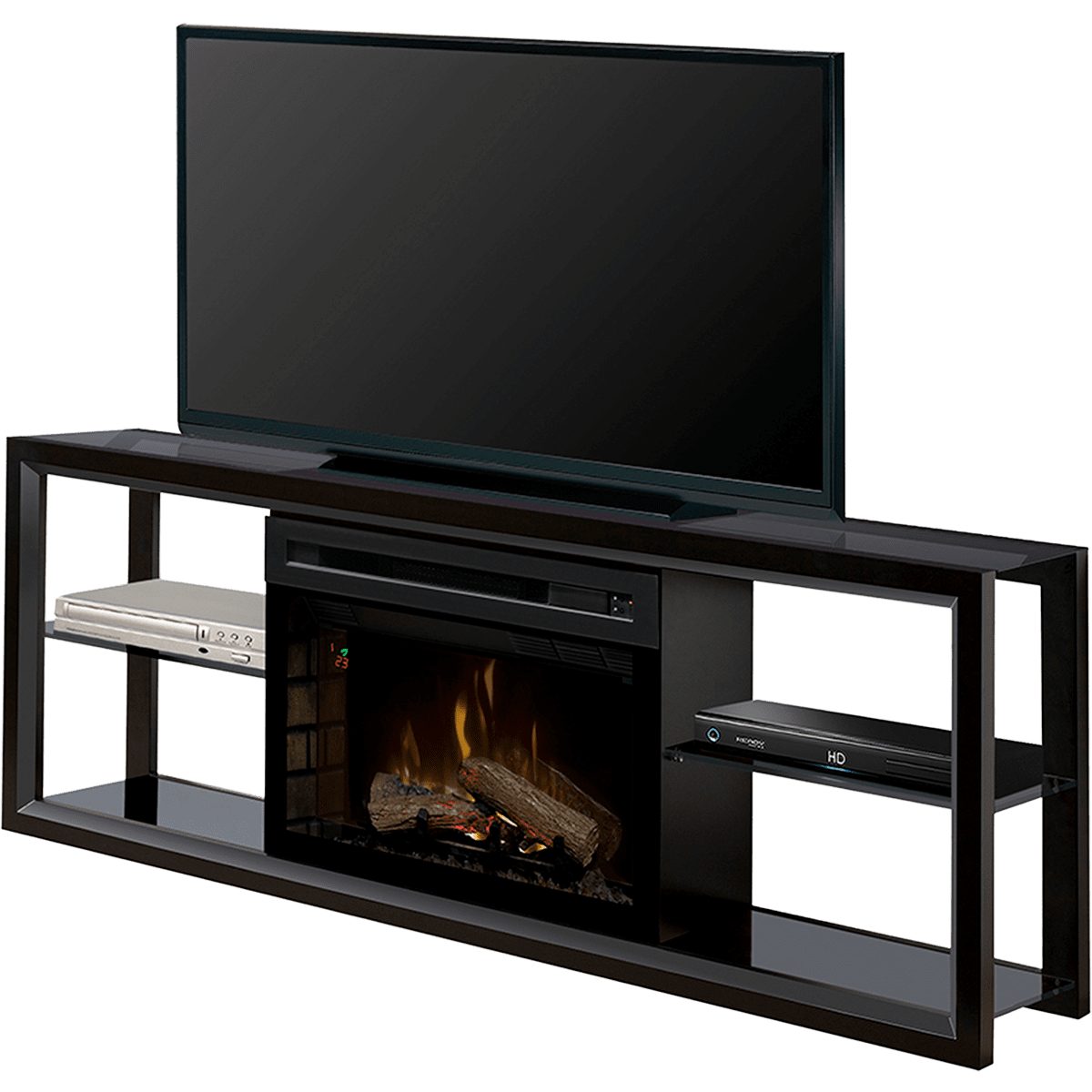 tsumi fireplace stand holly electric elegant unique tv interior design fenton media black of martin
