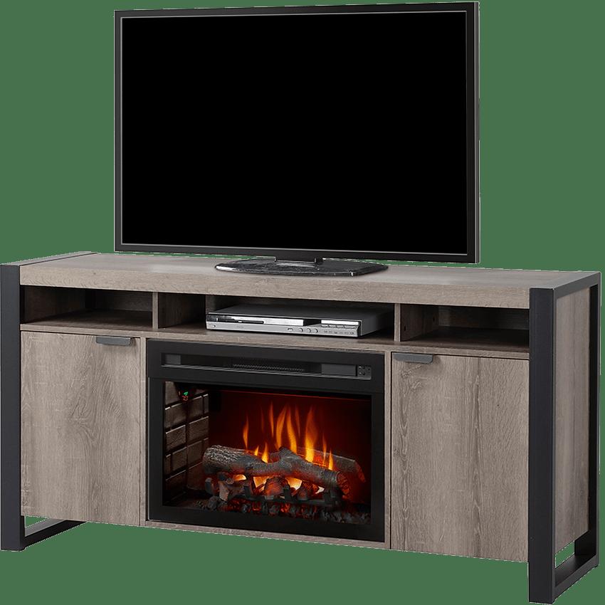 dimplex pierre media console fireplace sylvane rh sylvane com console fireplace with built-in mini-fridge console fireplace with built-in mini-fridge