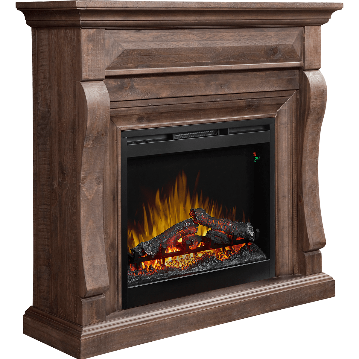 Dimplex Samuel Electric Fireplace Sylvane Garage Heaters With Thermostat 1