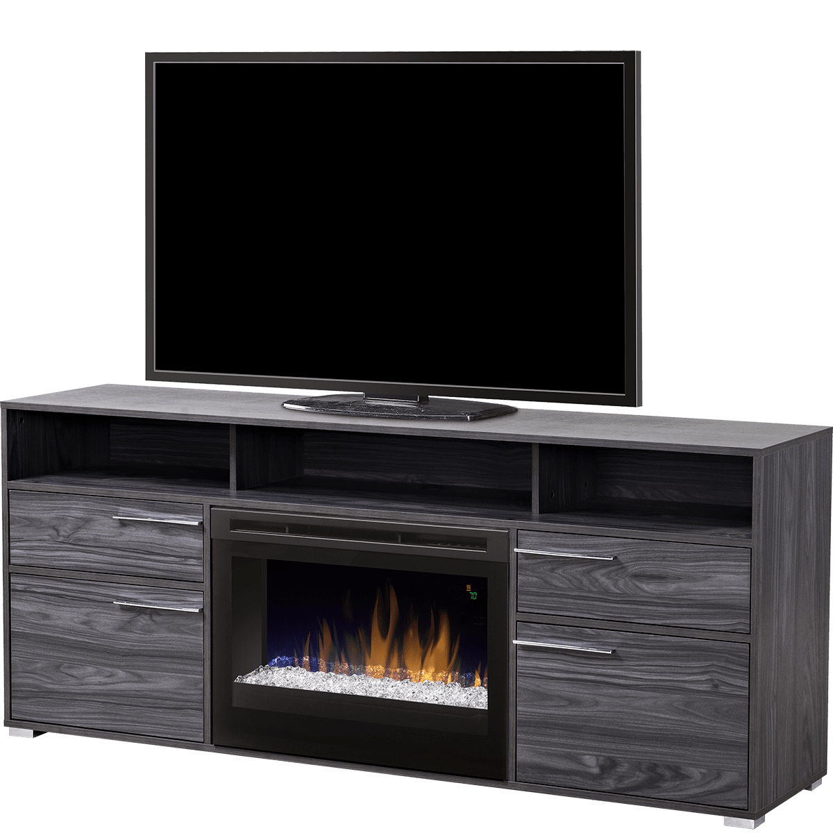 Wondrous Dimplex Sander Electric Fireplace Tv Stand Download Free Architecture Designs Estepponolmadebymaigaardcom
