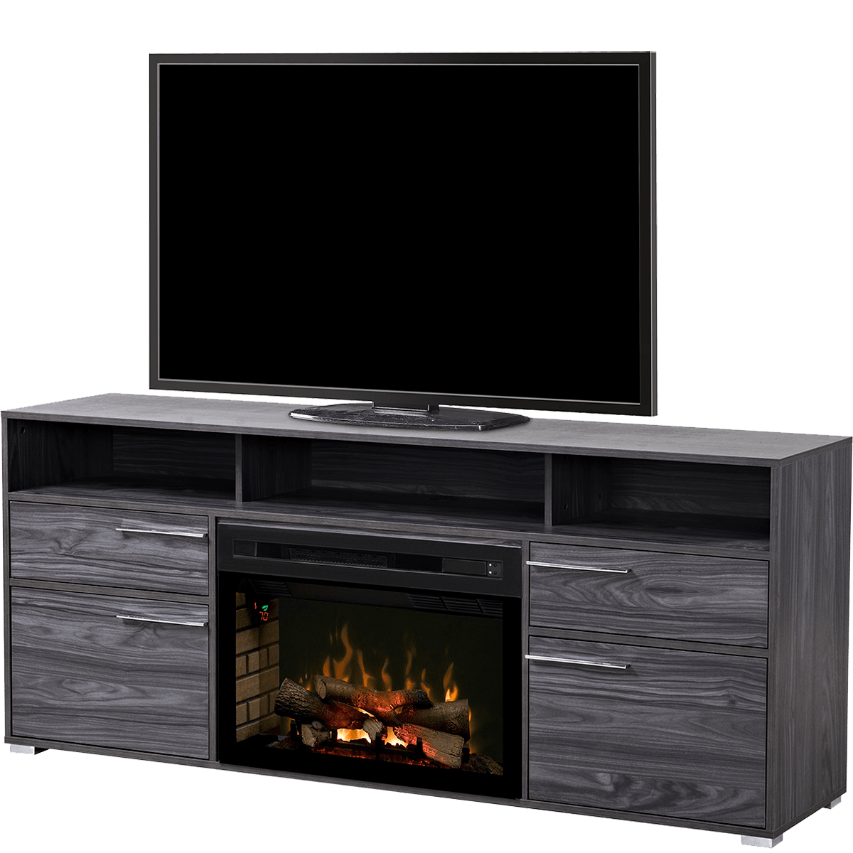 Dimplex Sander Media Console Electric Fireplace Sylvane