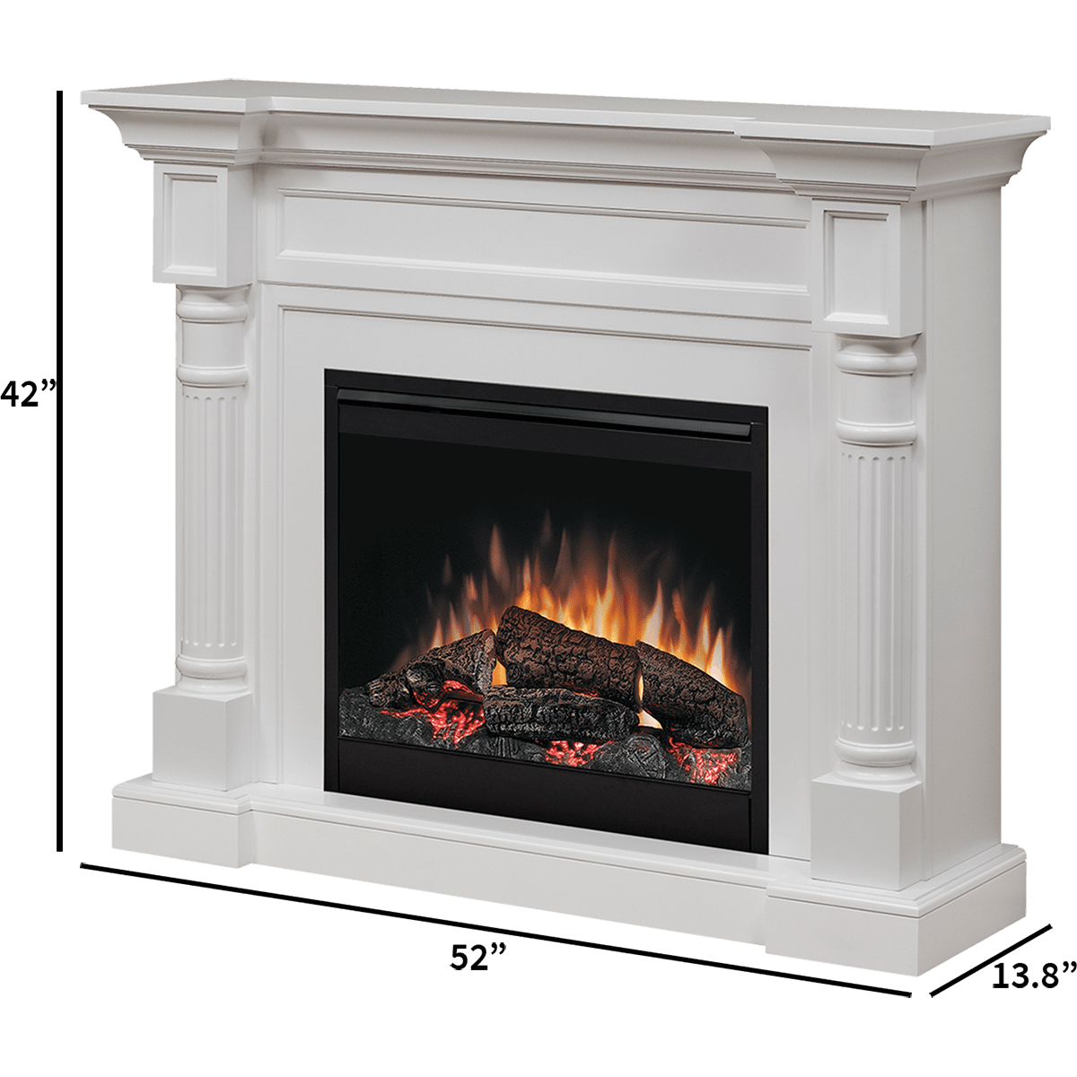 Swell Dimplex Winston Electric Fireplace Dfp26 1109W Interior Design Ideas Clesiryabchikinfo