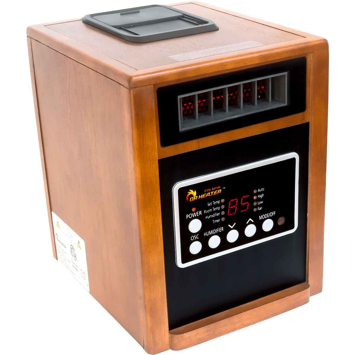Dr. Infrared Heater DR998 Elite Series Space Heater + Humidifier Model: DR-998