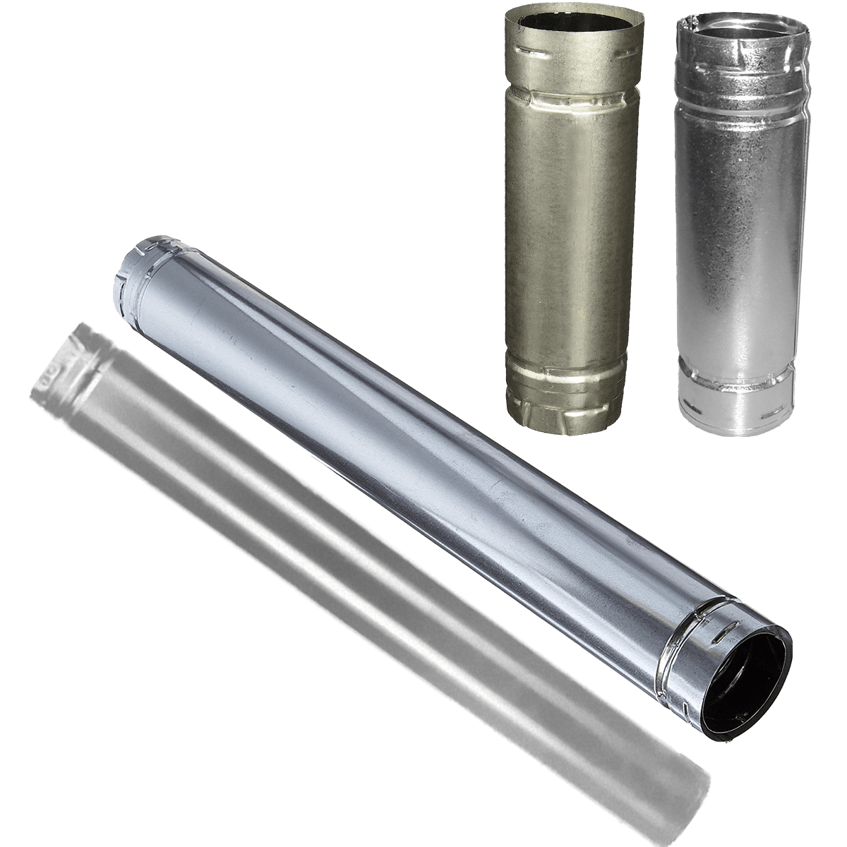 Duravent Stainless Straight Stove Pipes Sylvane