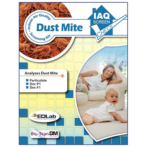 Building Health Check Dust Mite Test Kit