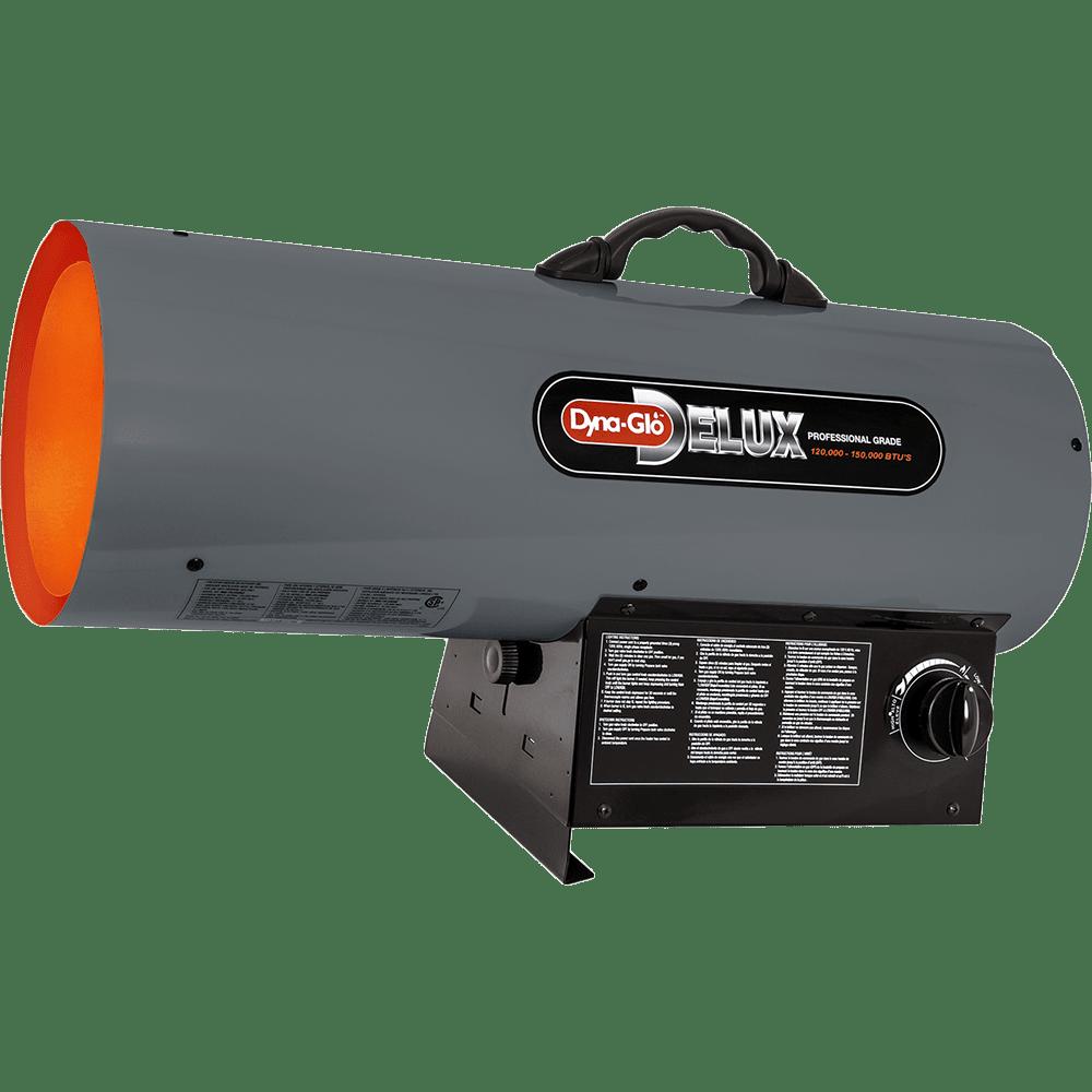 Dyna Glo Delux Portable 150 000 Btu Propane Forced Air Heater