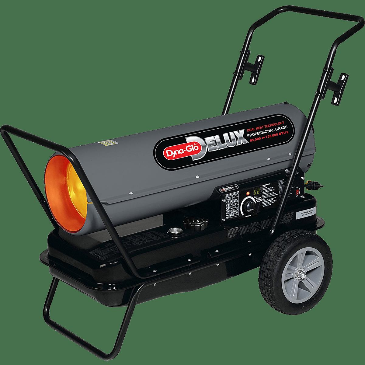 Dyna-Glo Delux 95K or 135K Kerosene Forced Air Heater