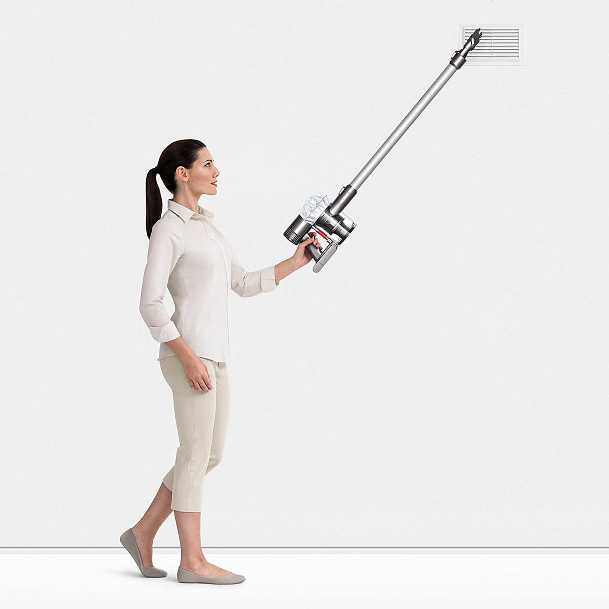 Image of: Handheld Vacuum Sylvane Dyson V6 Cordless Stick Vacuum Cleaner Sylvanecom
