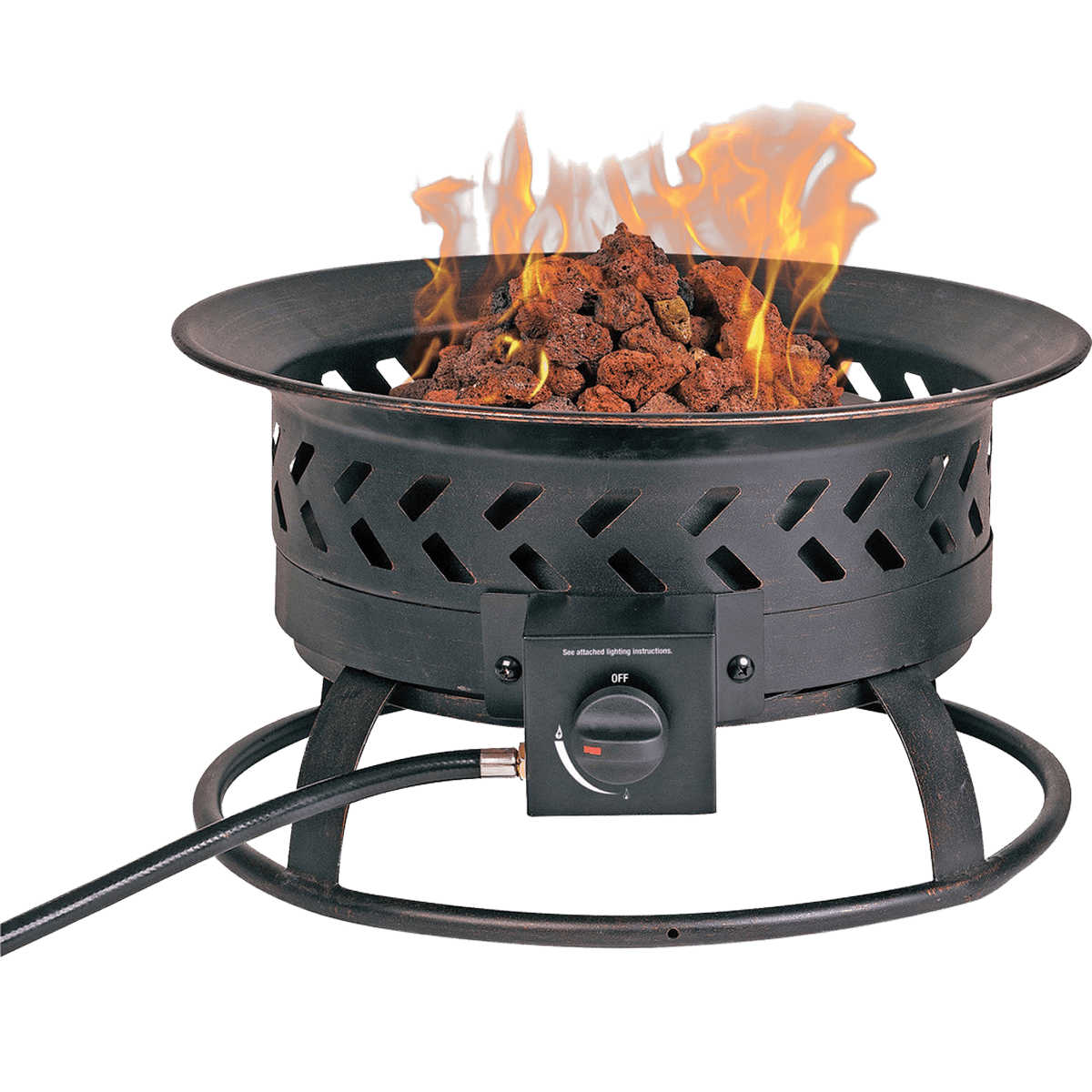 Portable Gas Fire Pits Outdoor: Endless Summer Portable Outdoor Gas Fire Pit