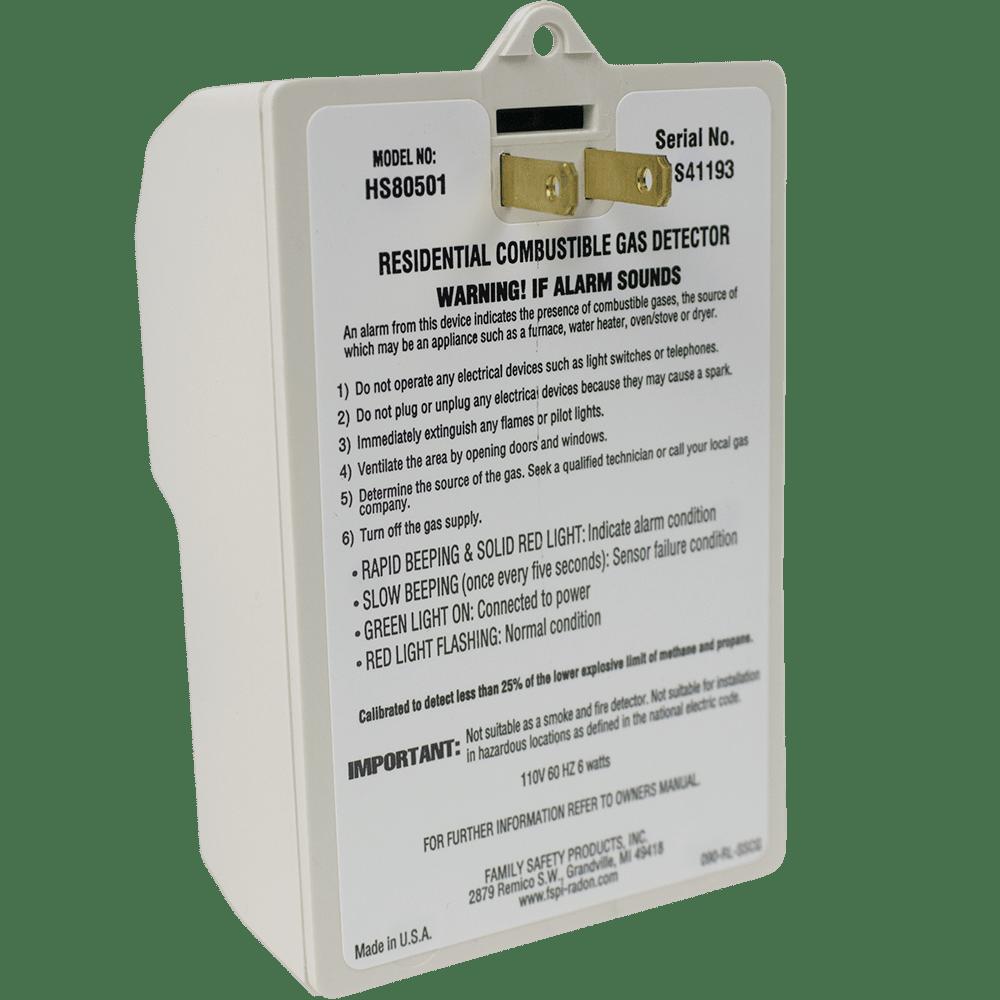 Safety Siren Pro Series Propane/Methane Gas Detector