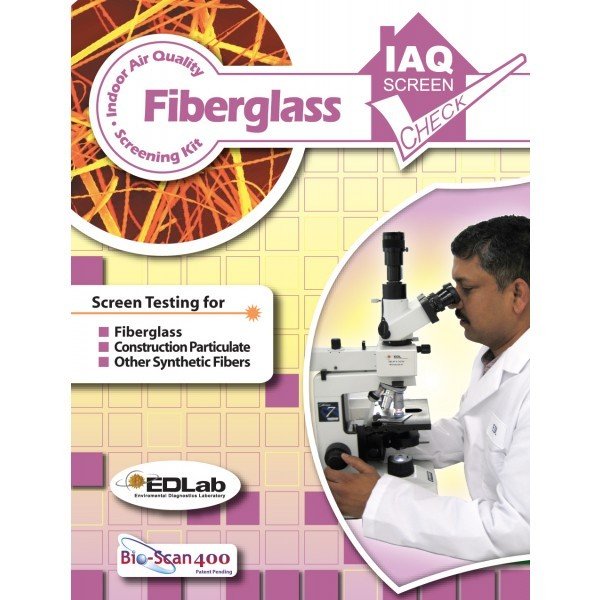 Building Health Check Fiberglass Test Kit