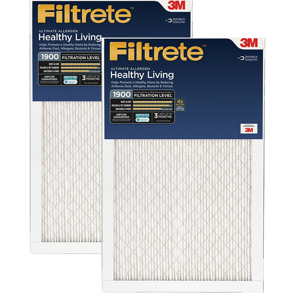 3M Filtrete Healthy Living 1900 MPR Ultimate Allergen Reduction Air Filters fi5341