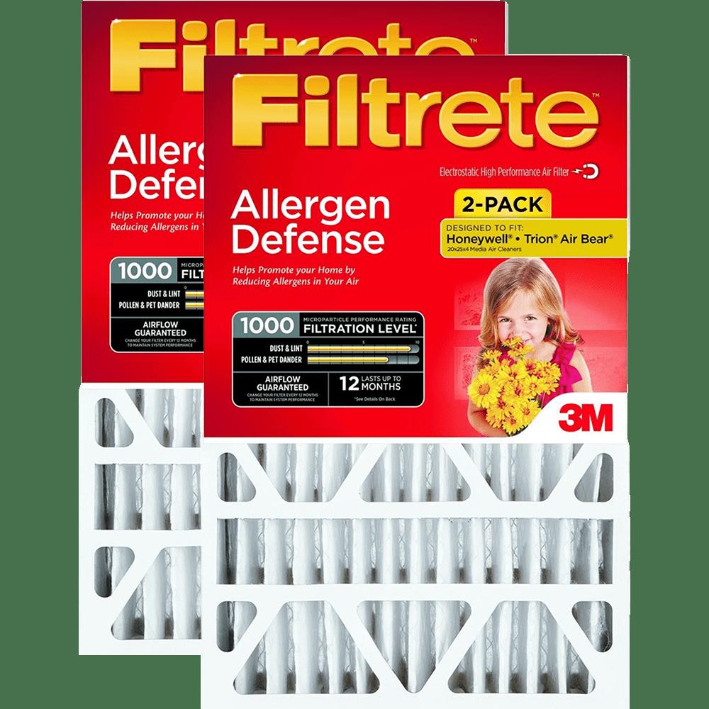 3M Filtrete MPR 1000 4-Inch Micro Allergen Defense Air Filters fi5337