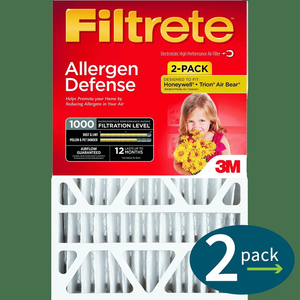 3m filtrete mpr 4inch micro allergen defense air filters - Filtrete Air Filter