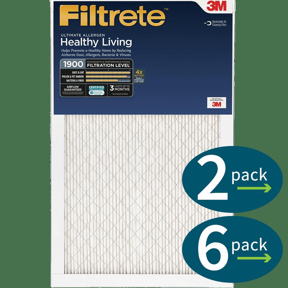 3m Filtrete Healthy Living 1900 Ultimate Allergen