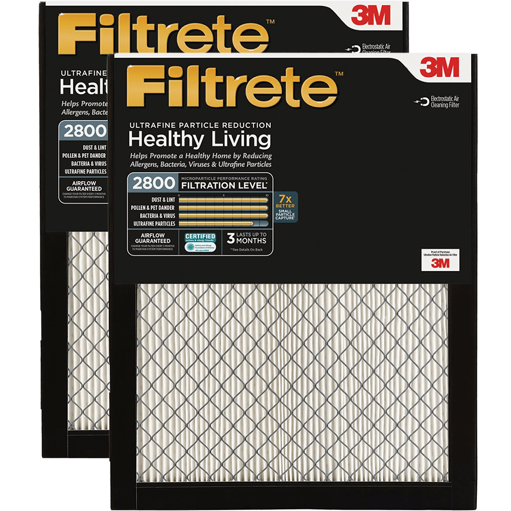 3M Filtrete Healthy Living Ultrafine Particle Reduction Filters - 2800 MPR fi5359