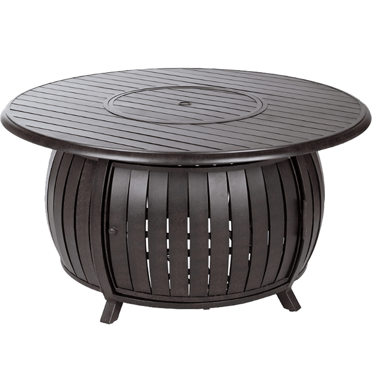 Fire Sense Extruded Aluminum Round LPG Fire Pit   Model 61832