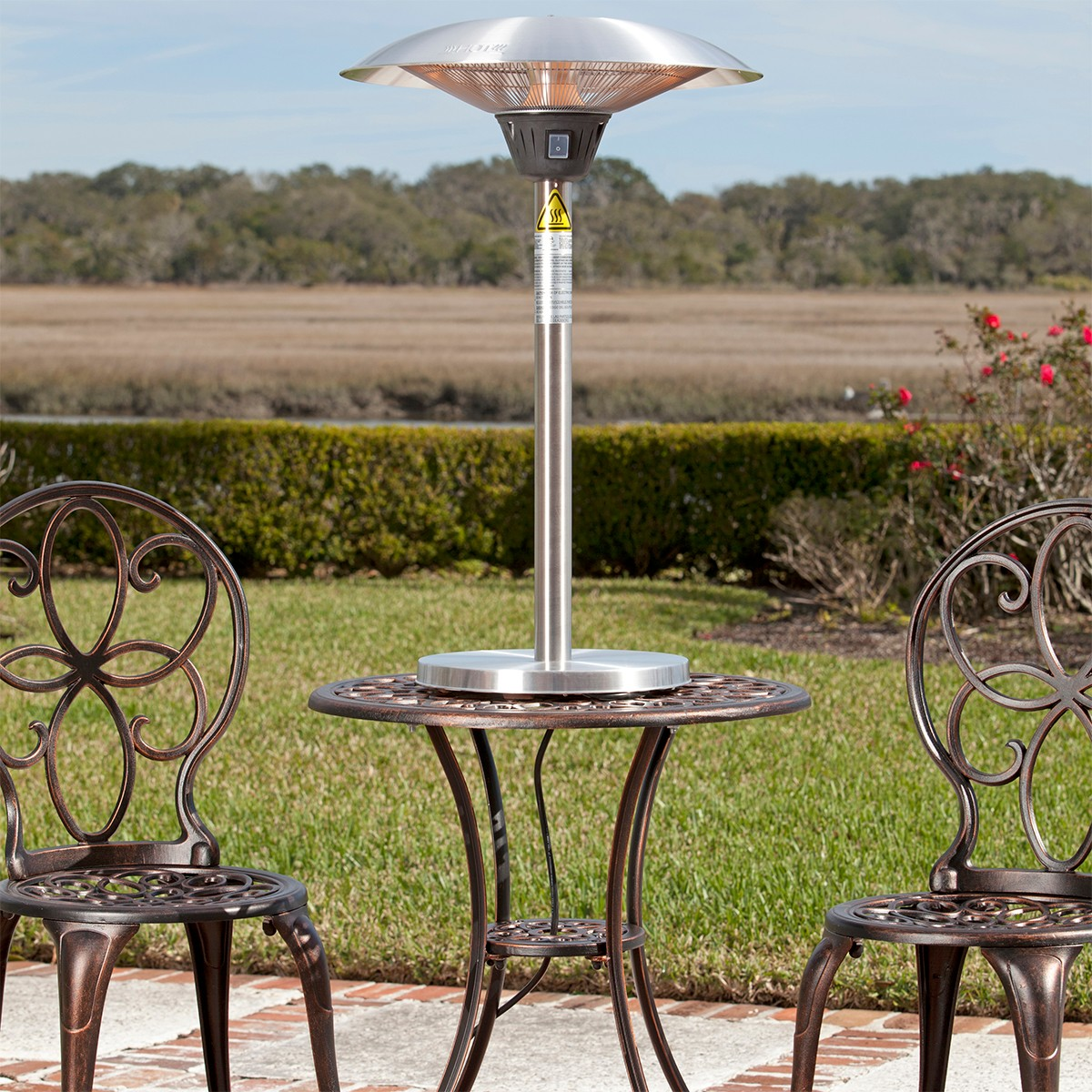 Fire Sense Cimmaron Tabletop Halogen Patio Heater
