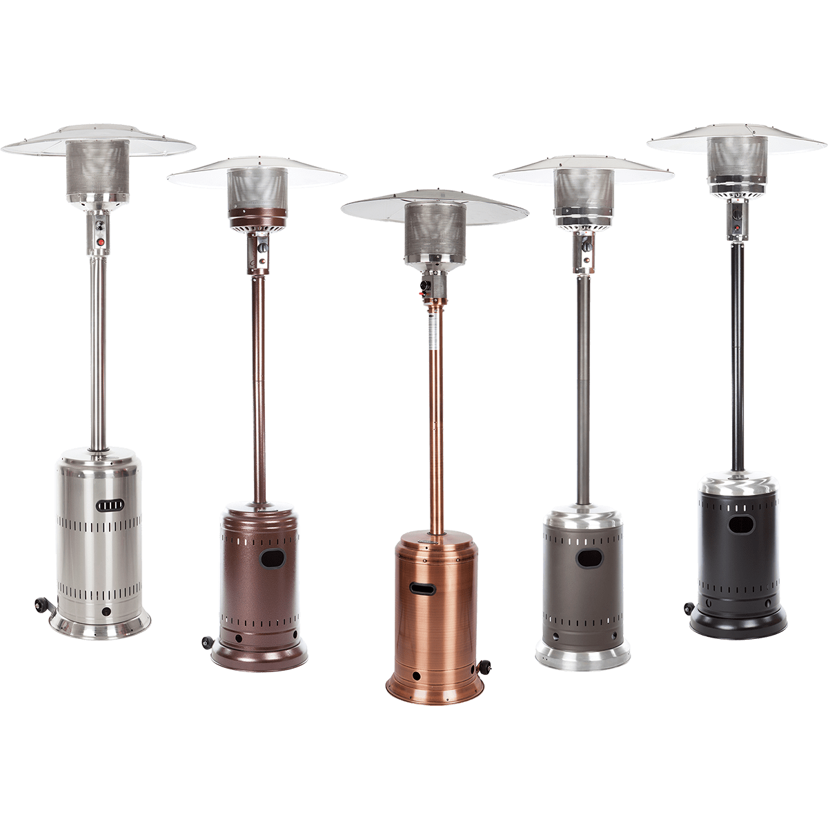 Five Finish Options. Pick The Fire Sense Patio Heater ...