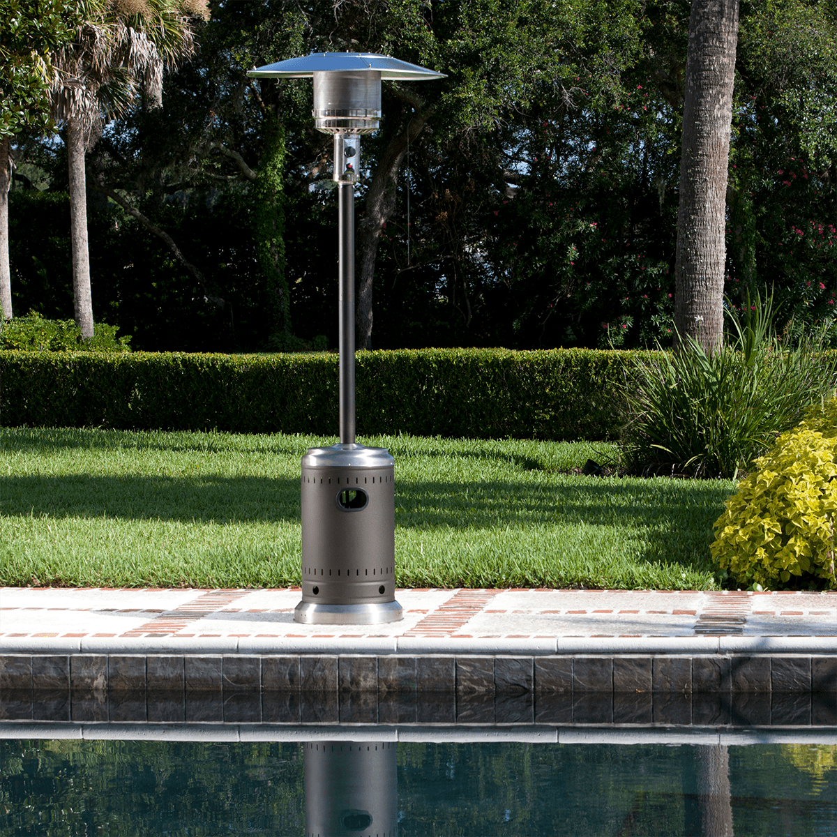 Gentil Fire Sense Commercial Patio Heater | Sylvane