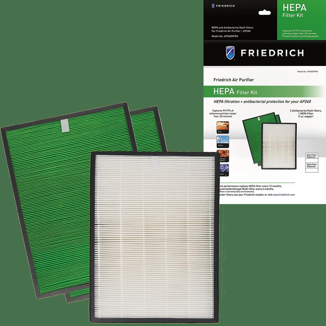 Friedrich AP260HFRK HEPA Filter Replacement Kit fr3605