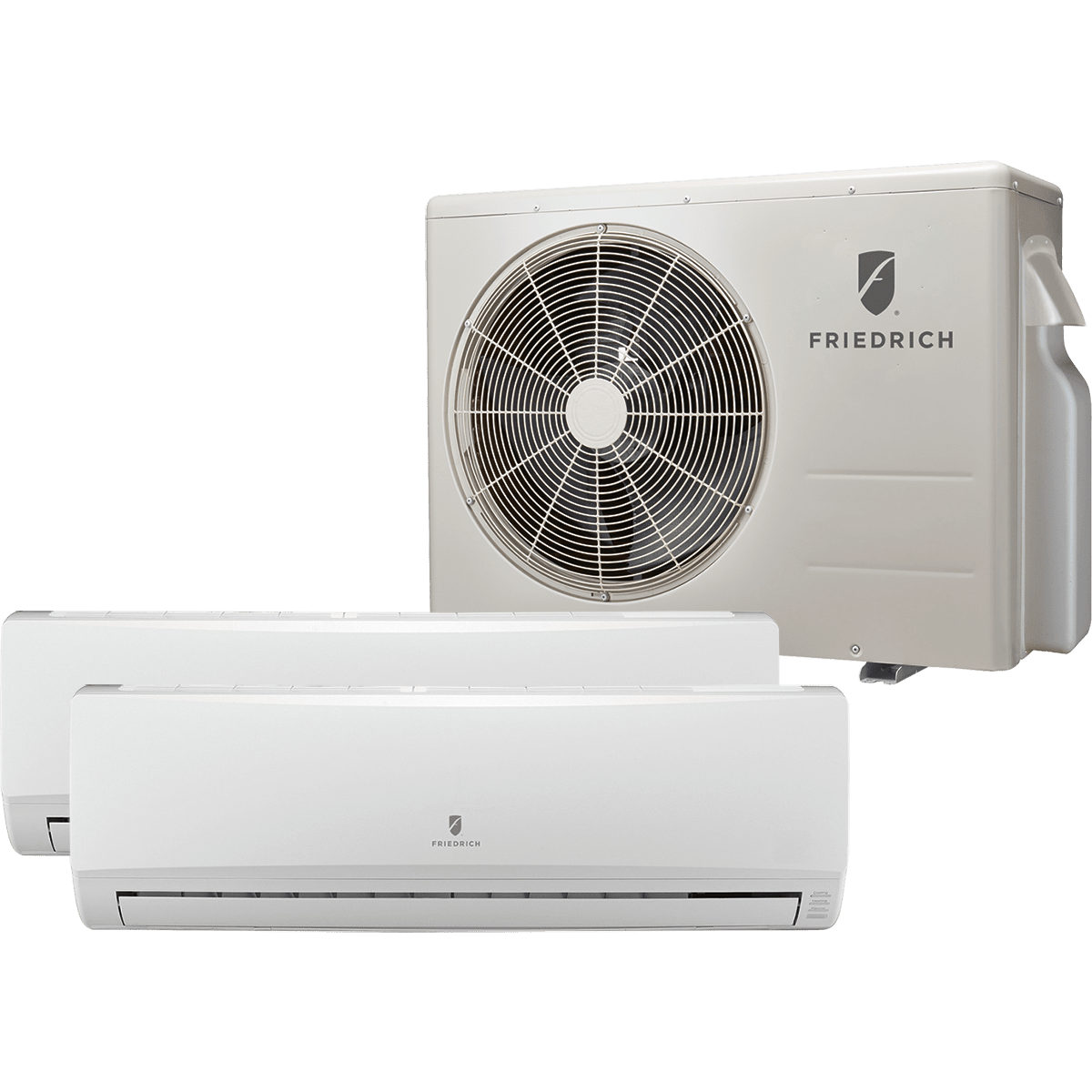 Friedrich m24dyf ductless mini split heat pump free for Ductless ac
