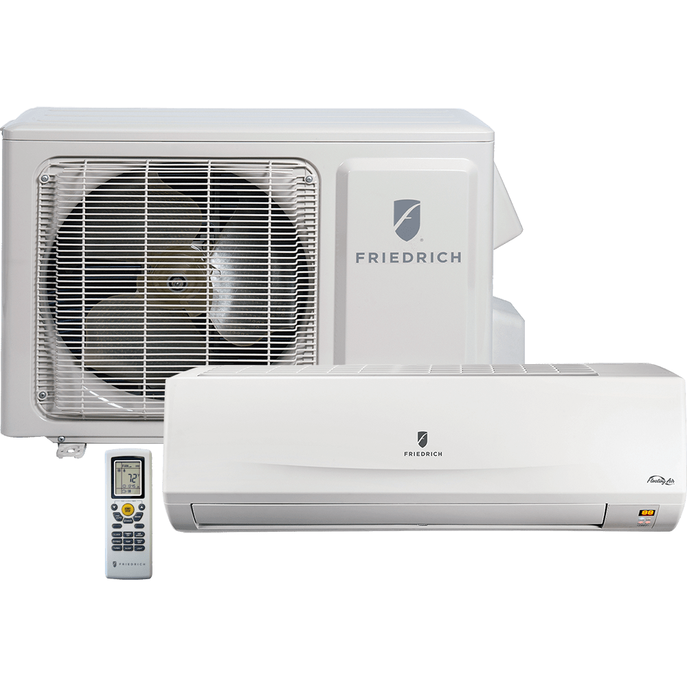 friedrich floating air mm12yj minisplit air conditioner