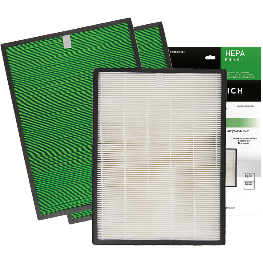 Friedrich AP260HFRK HEPA Filter Replacement Kit fr3605
