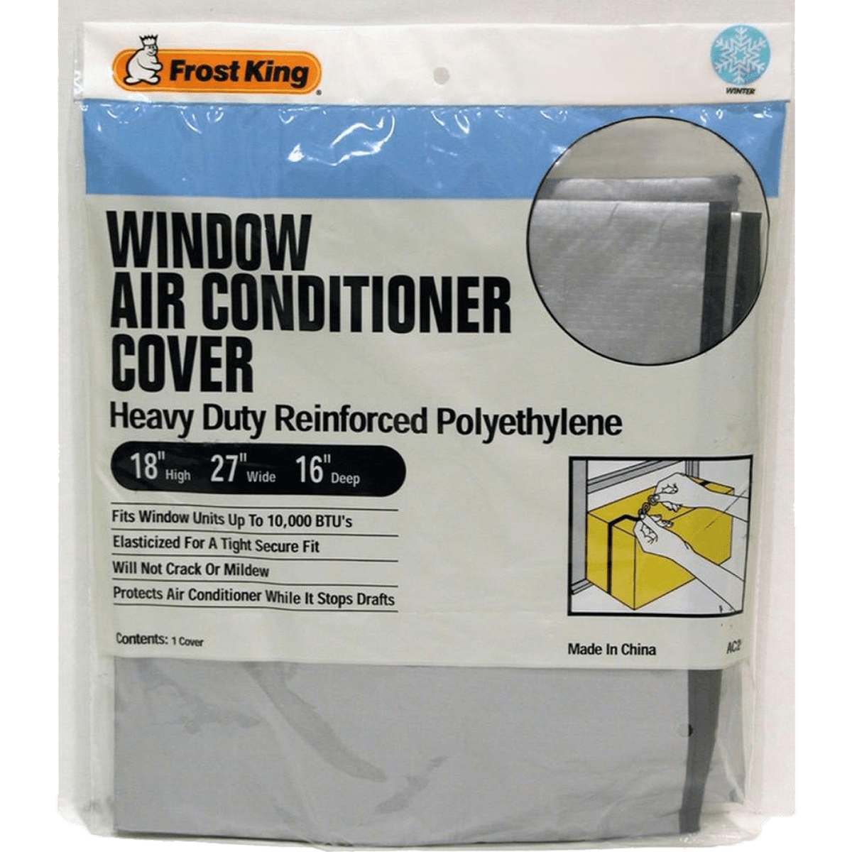 Frost King AC2H Outside Window Air Conditioner Cover fk5697
