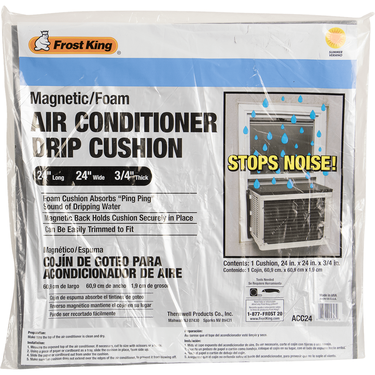 Frost King Acc24 Air Conditioner Drip Cushion Sylvane