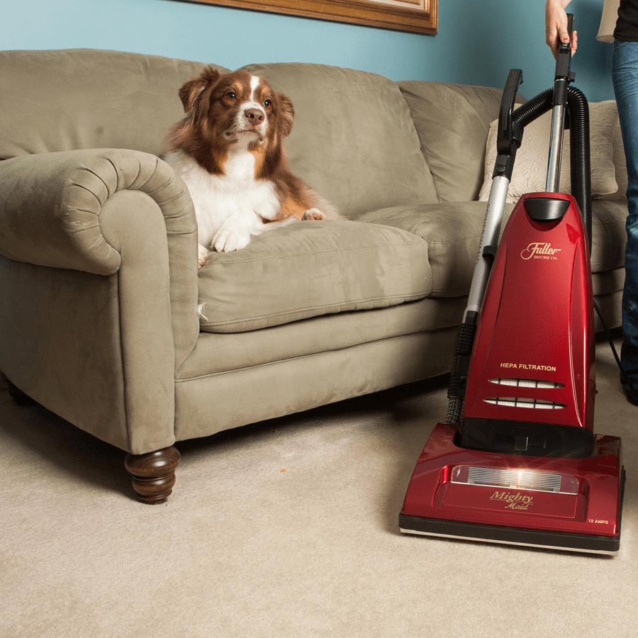 Fuller Brush FBMM-PW4 Mighty-Maid All Floor Upright Vacuum Cleaner ...