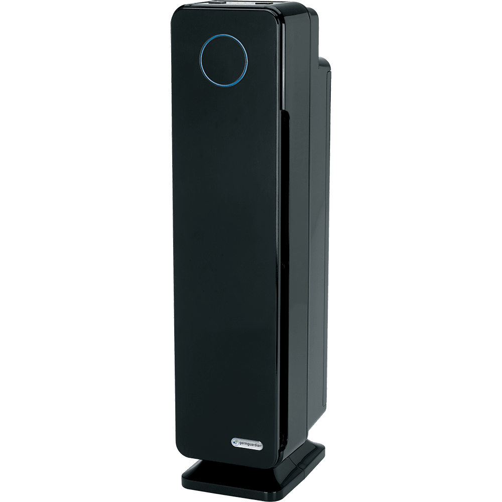 Germ Guardian AC5300 Elite 28-Inch 3-in-1 HEPA Tower with UV-C Air Purifier ge4516