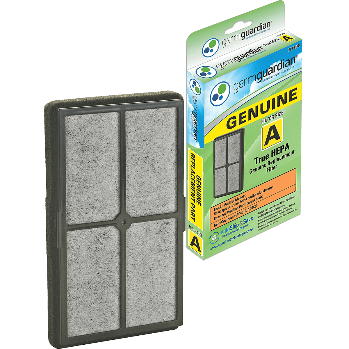 Germ Guardian HEPA Replacement Filter A (FLT4010) ge4184