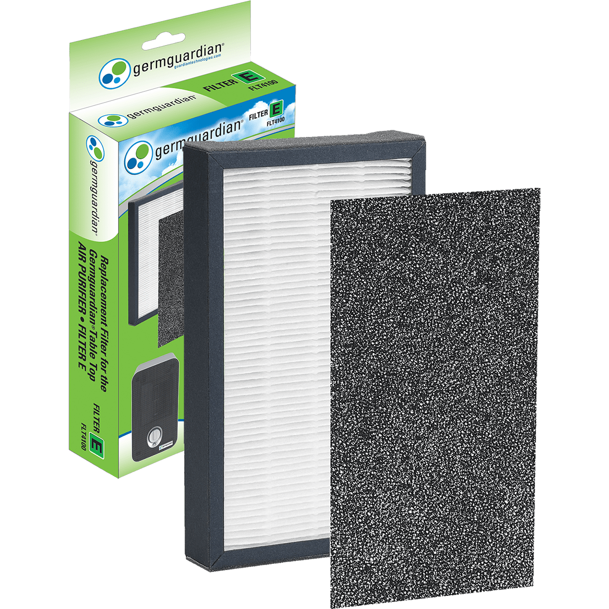 GermGuardian HEPA Replacement Filter E (FLT4100) ge3568