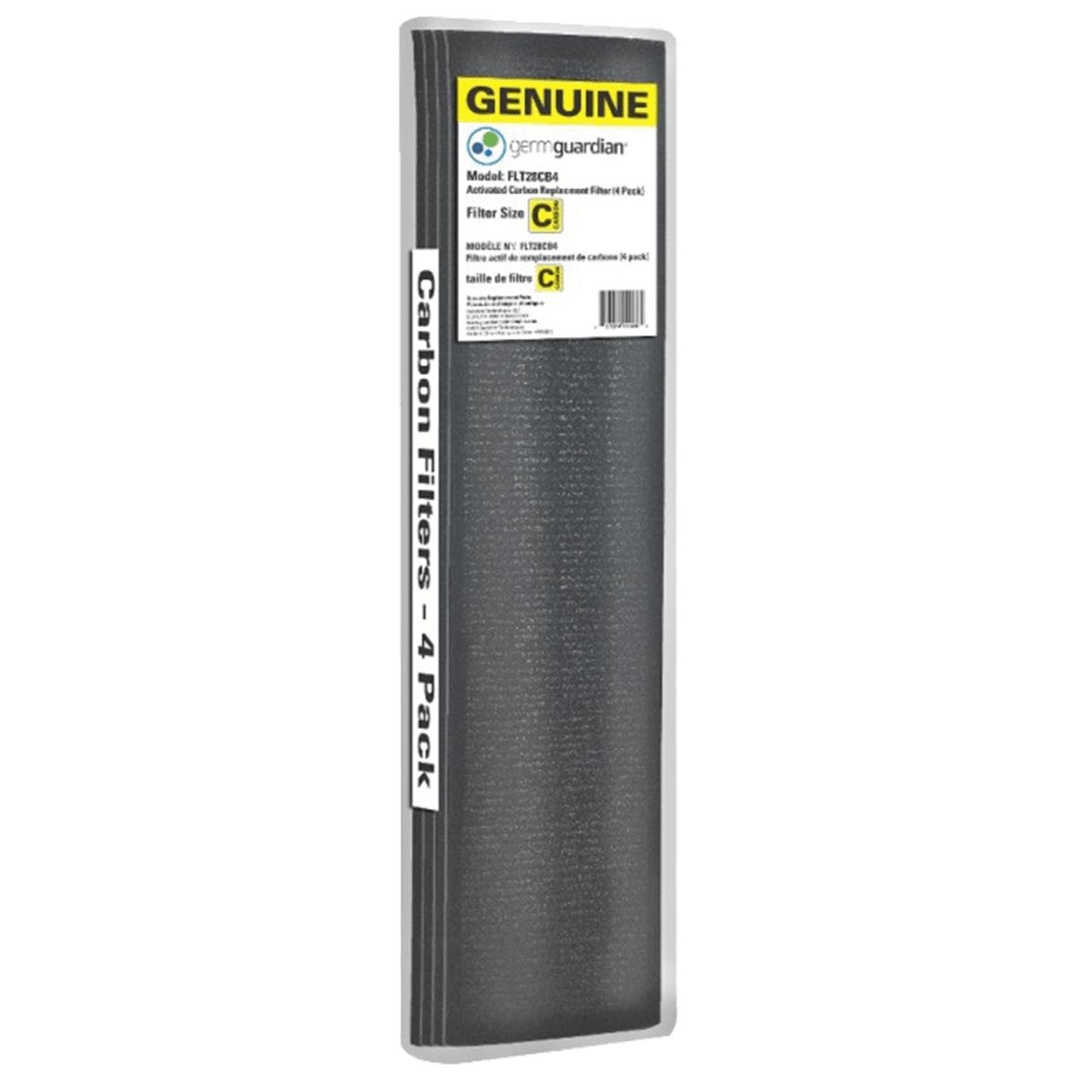 GermGuardian 4-Pack Carbon Filters for 28-Inch Air Purifiers ge7103