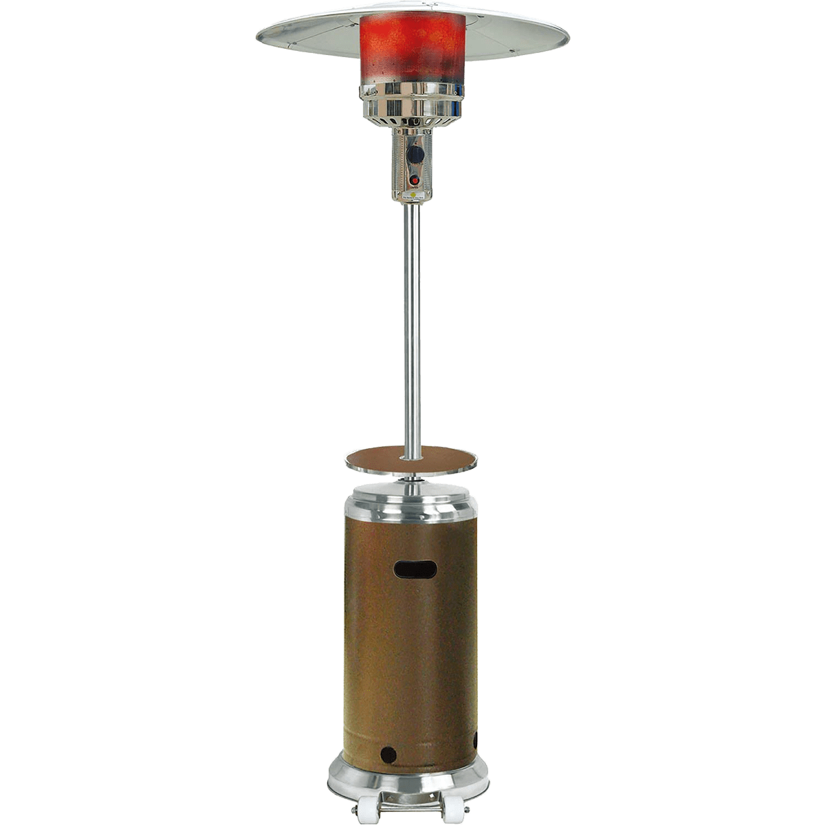 Hanover 41,000 BTU Steel Umbrella Propane Patio Heater