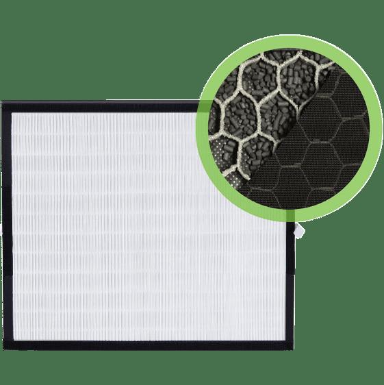 Alen BreatheSmart Fit50 HEPA-FreshPlus Replacement Filter (FF50-VOC) al4284