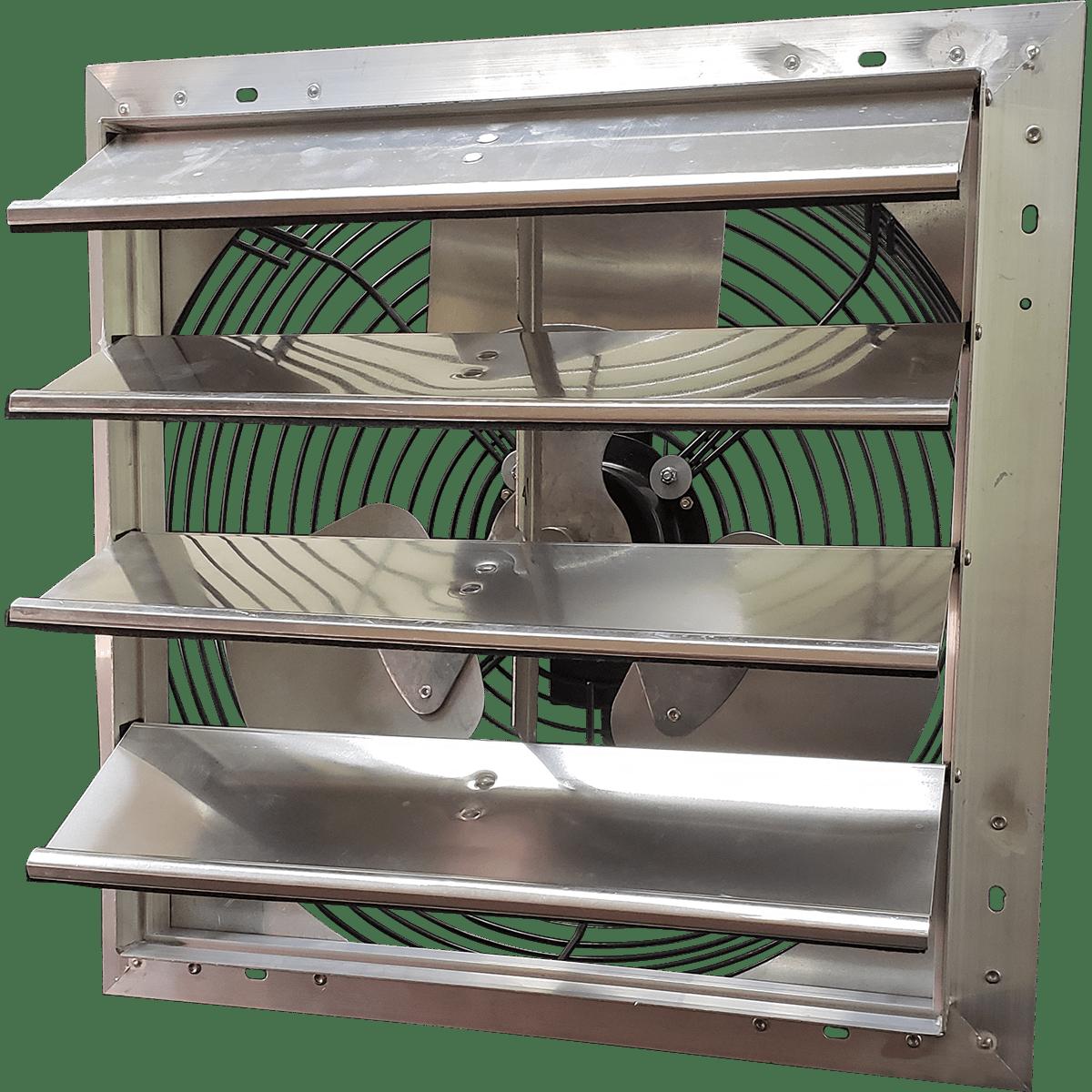 Bathroom Fan Replacement Motor Power Gable Mount Attic Ventilator Fan